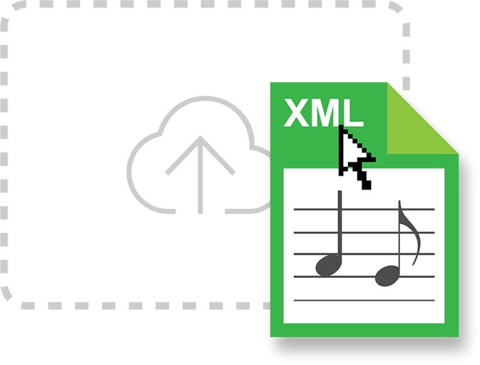 Upload your own MusicXML
