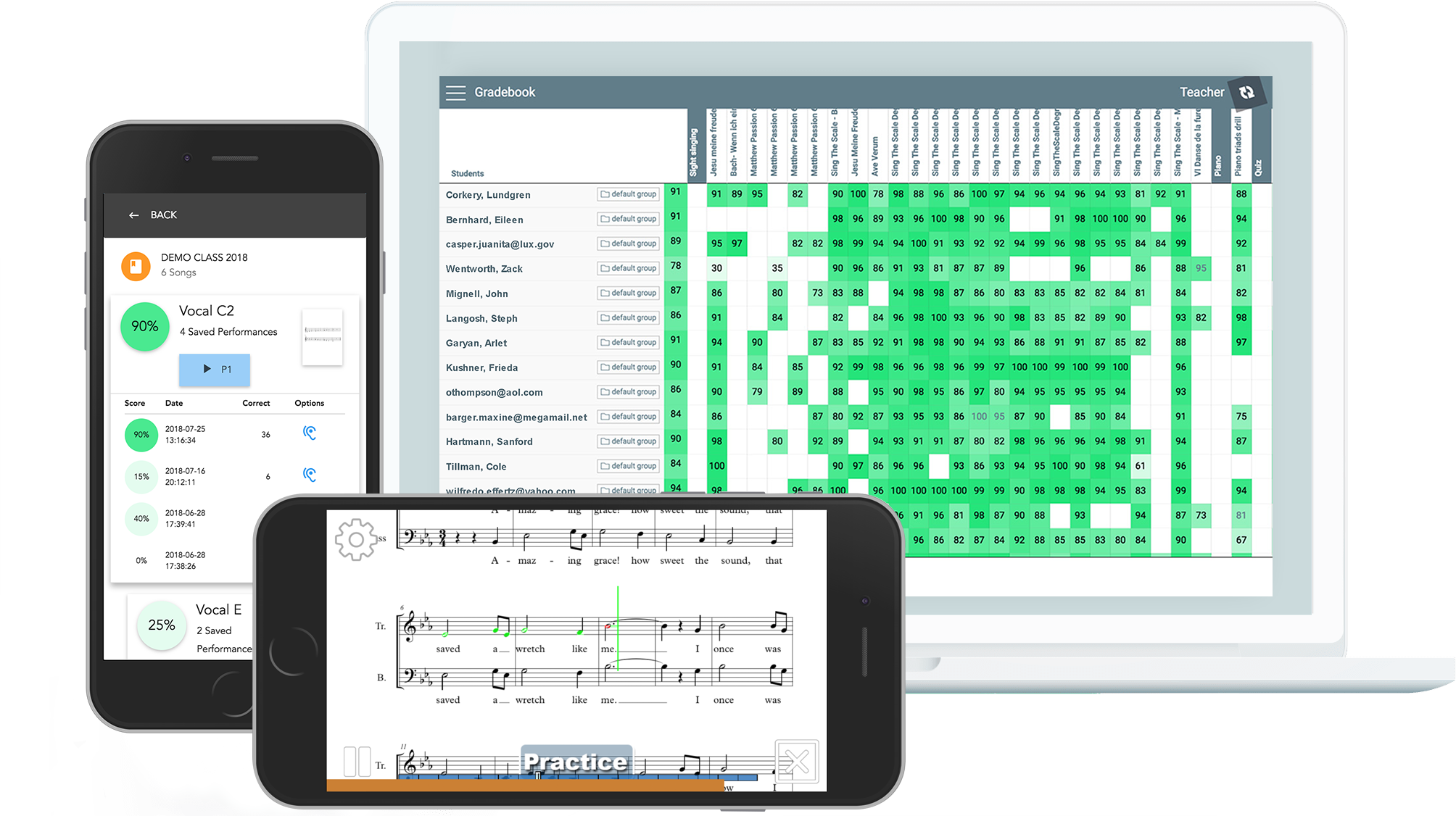 Music Prodigy is a complete solution to help music teachers with 1st and 2nd year students